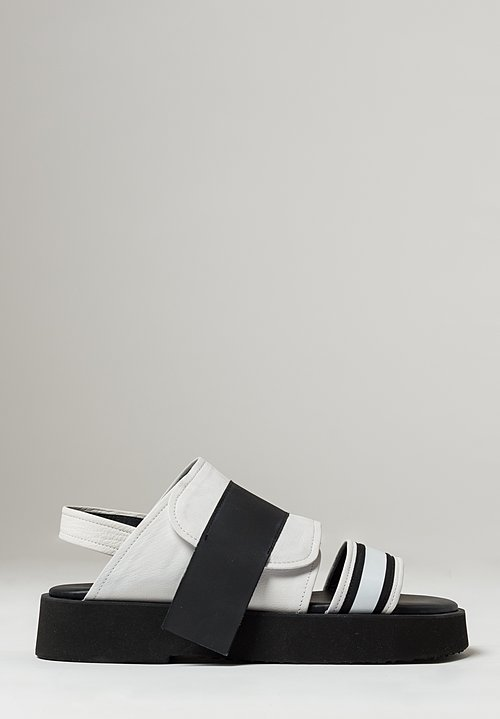 Puro Beach Fizz Sandals in White