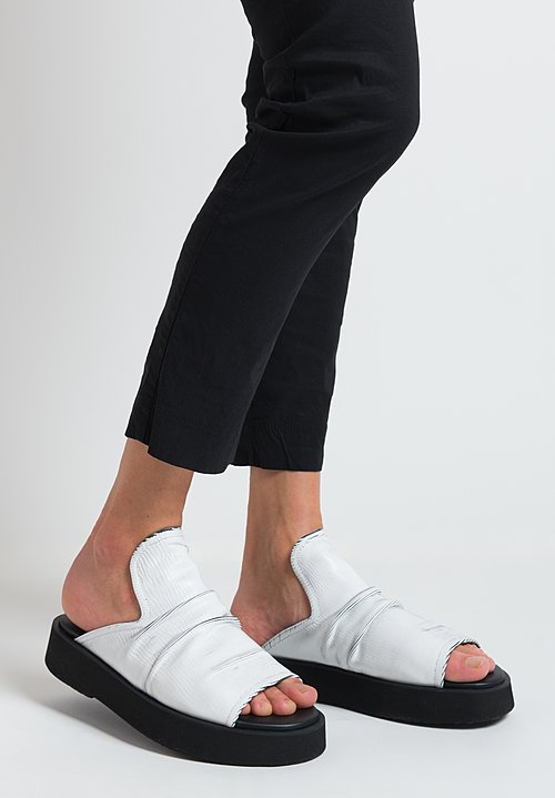 Puro No Mistake Slide Sandals in White