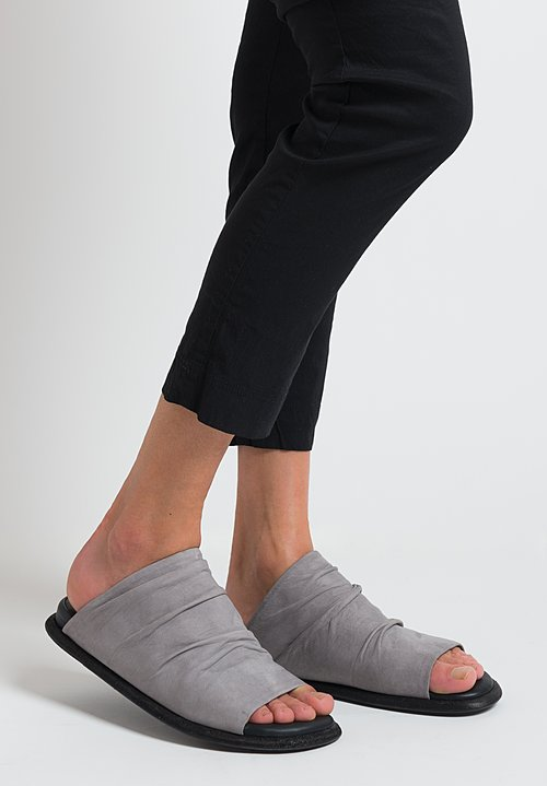 Puro Conditioner Slide Sandals in Grey