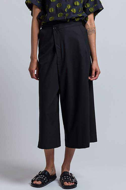 Henrik Vibskov Textured Pound Pants	in Black