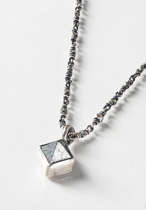 Miranda Hicks Magnetite, Little Mineral Necklace