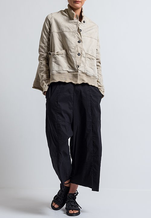 Rundholz Dip Short Jacket in Umbra