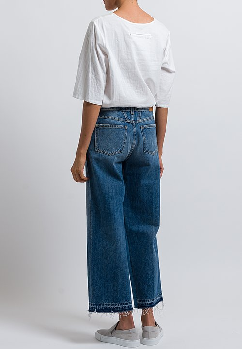 Closed Glow High Waist Jeans in Mid Blue