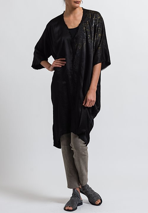 Jaga Caftan Martini Tunic in Black