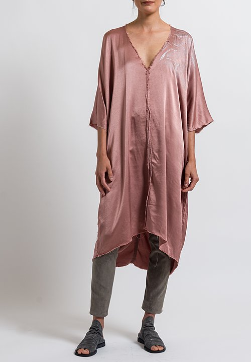 Jaga Caftan Martini Tunic in Rose