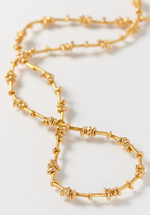 Greig Porter 18K Gold Bead Short Necklace