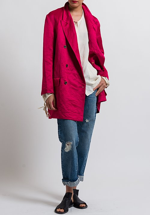 Uma Wang Cardedu Kaira Jacket in Flamingo