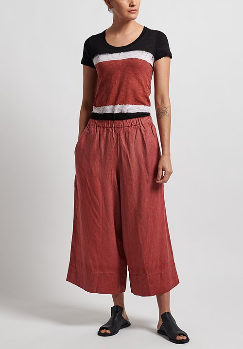 Gilda Midani Panta Pants in Red