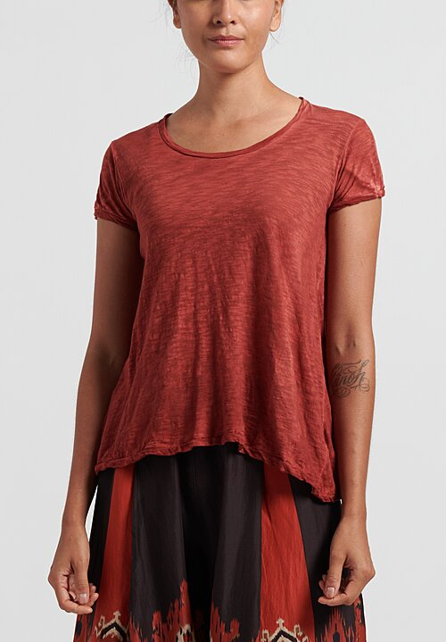 Gilda Midani Monoprix Tee in Red