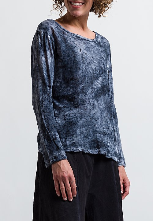 Gilda Midani Long Sleeve Tee in Mist