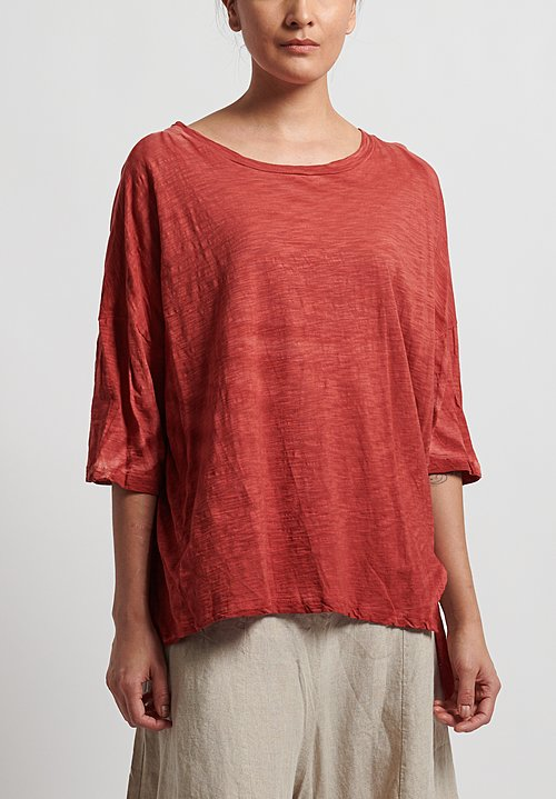 Gilda Midani Super Tee in Red