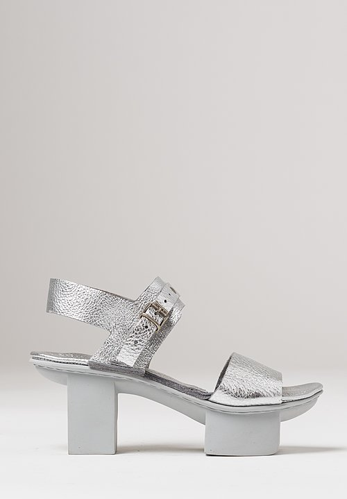 Trippen Gap Sandal in Nickel