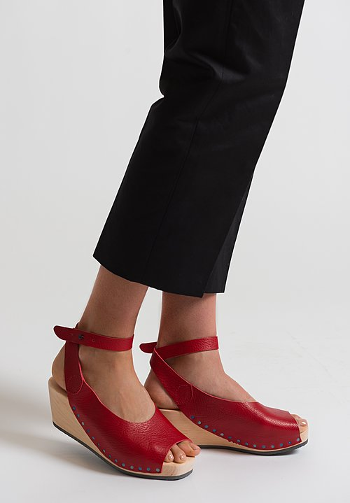 Trippen Orinoco Sandal in Red