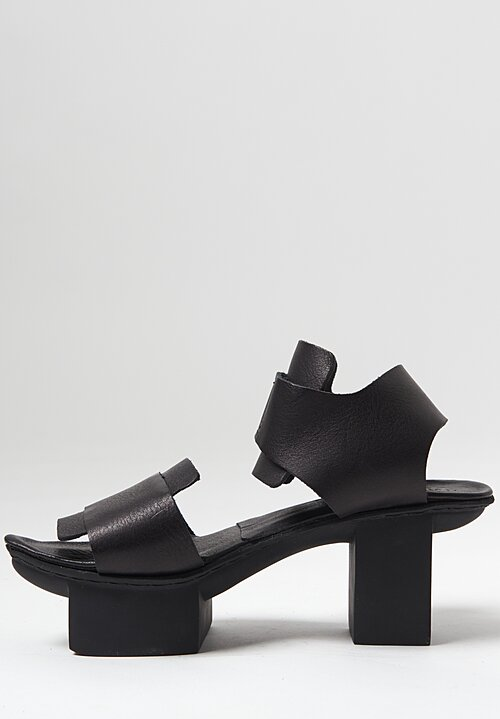 Trippen Visor Sandal in Black