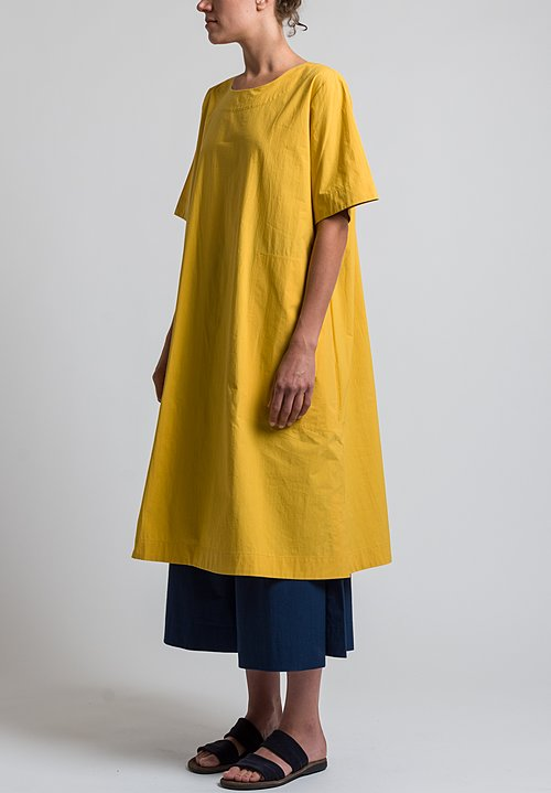 Toogood Percale Greengrocer Dress in Sun