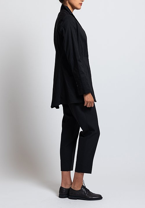 Peter O. Mahler Layered Jacket in Black