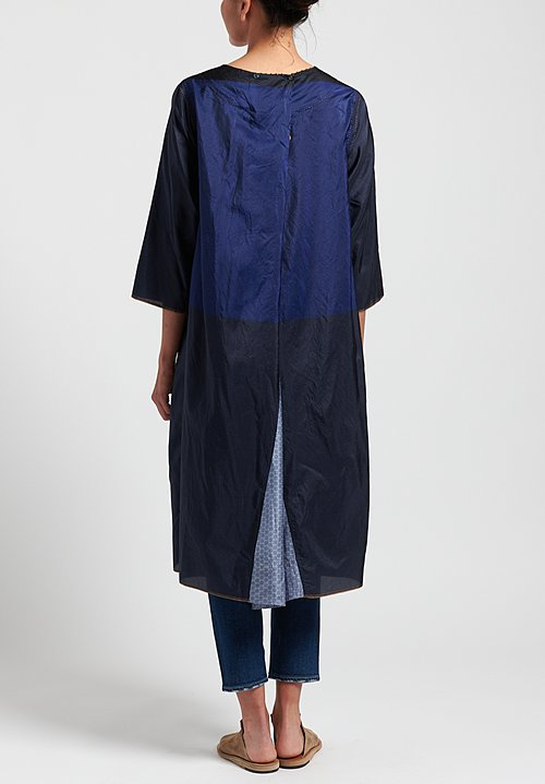 Péro A-Line Tunic Dress in Navy