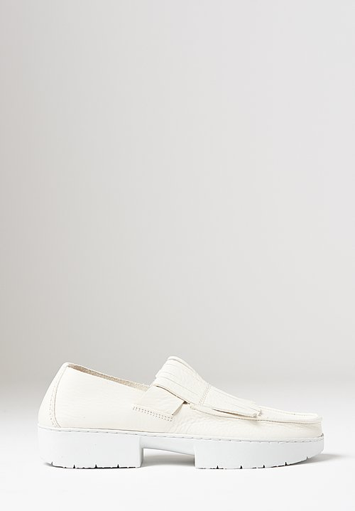 Trippen Tiger Shoe in White