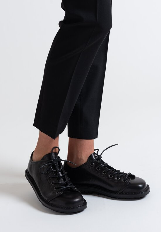 Trippen Tödi Shoe in Black