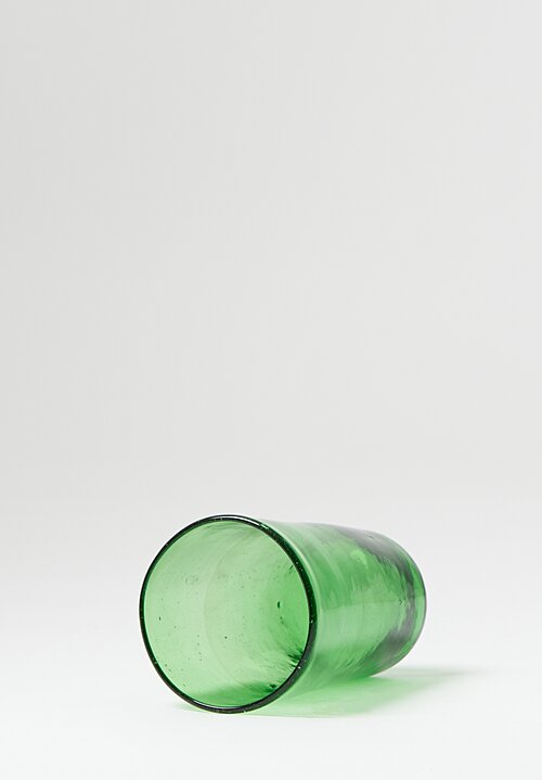 La Maison Dar Dar Handblown Konik Glass in Vert