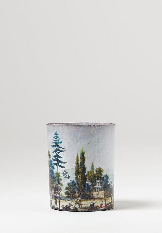 Astier de Villatte John Derian Panorama Empire Cup #1 in White