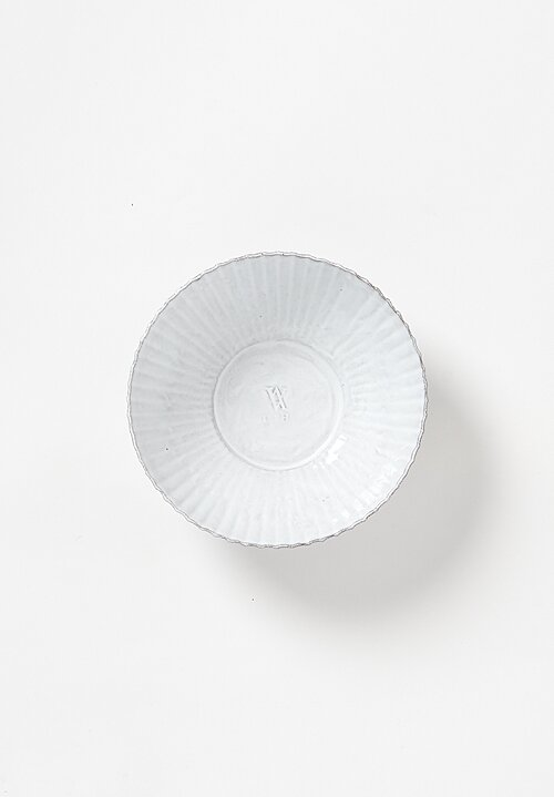 Astier de Villatte Petulla Salad Bowl in White