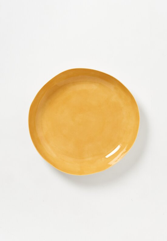 Bertozzi Solid Interior Shallow Serving Bowl in Gaillo