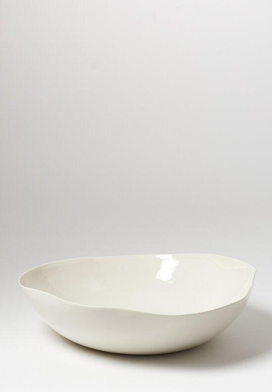 Bertozzi Large Porcelain Serving Bowl in White