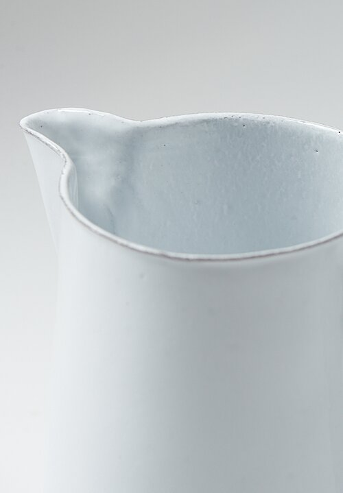 Astier de Villatte Rose Pitcher White