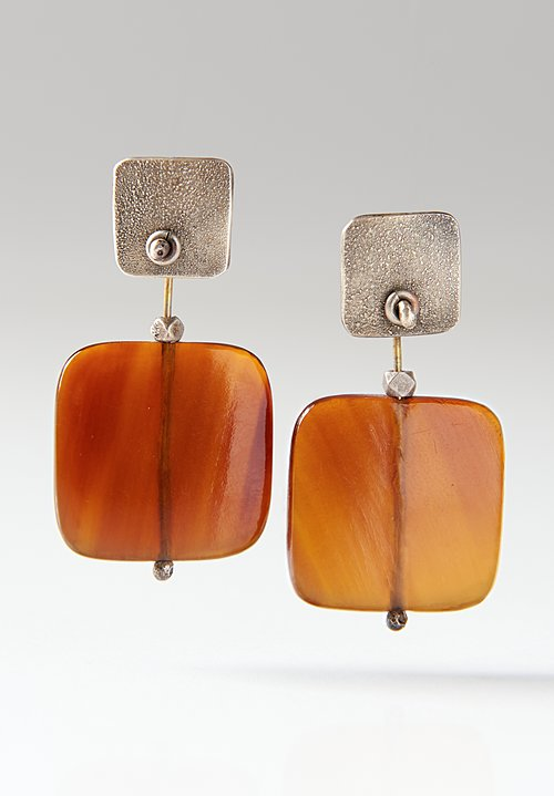 Holly Masterson Square Horn Earrings