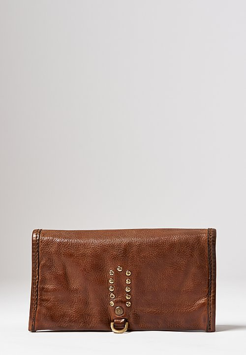 Campomaggi Leather Wallet in Military