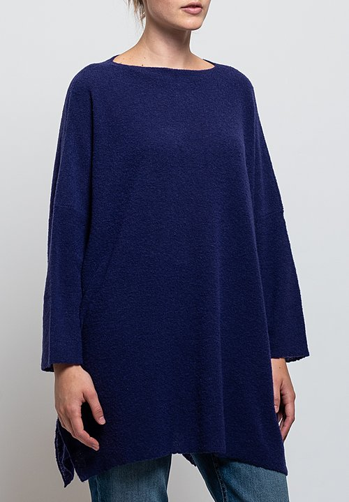 Shi Cashmere Long Anton Sweater in Constellation