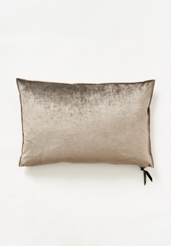 Maison de Vacances Royal Velvet Pillow Ecorce