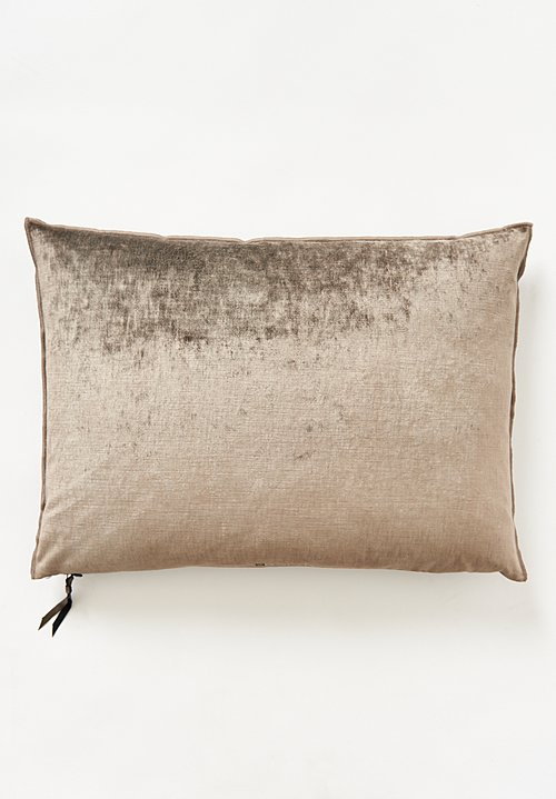 Maison de Vacances Large Royal Velvet Pillow Ecorce