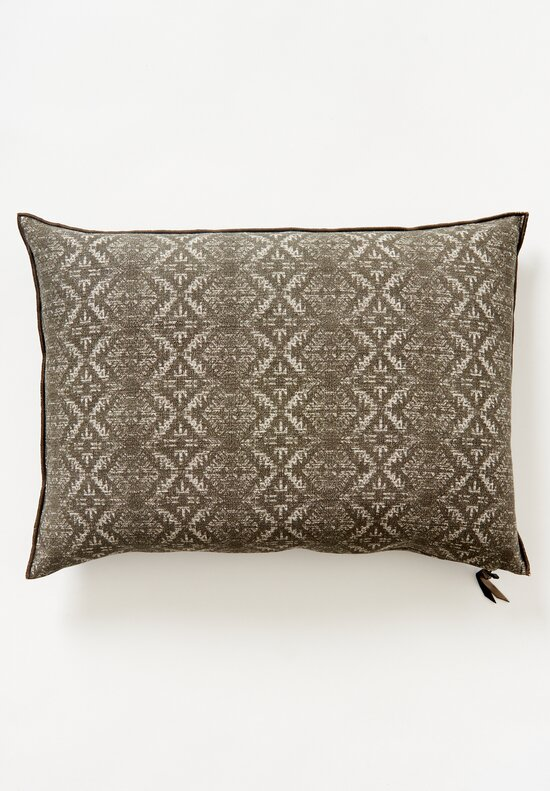 Maison de Vacances Large Canvas Hopi Pillow Ecorce