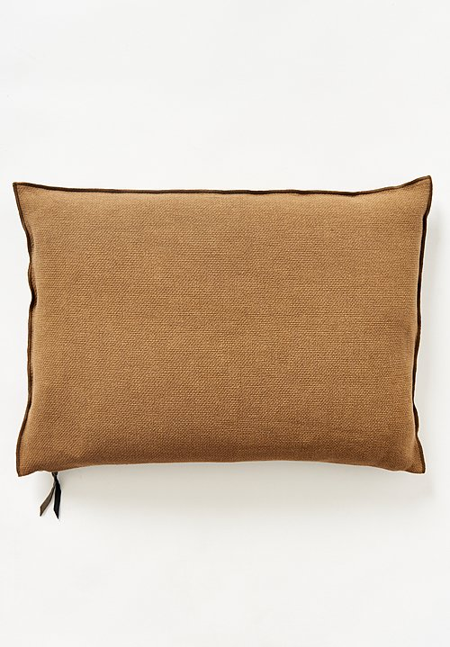Maison de Vacanes Large Formentera Canvas Pillow Cappuccino