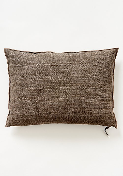 Maison de Vacanes Large Canvas Nomade Pillow Ecore