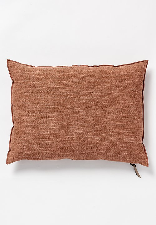 Maison de Vacanes Large Canvas Nomade Pillow Argile