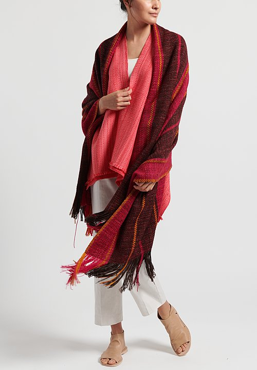 Wehve Extra Cosy Ali Shawl in Tulum Earth