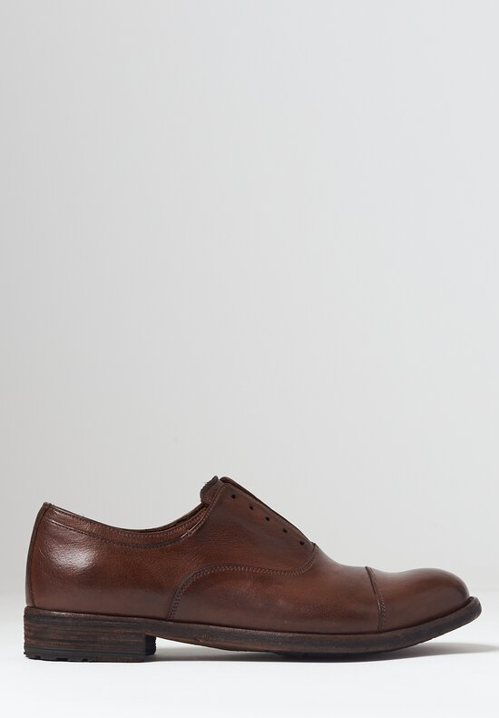 Officine Creative Lexikon 17 Ignis Oxford Shoe in Sauvage