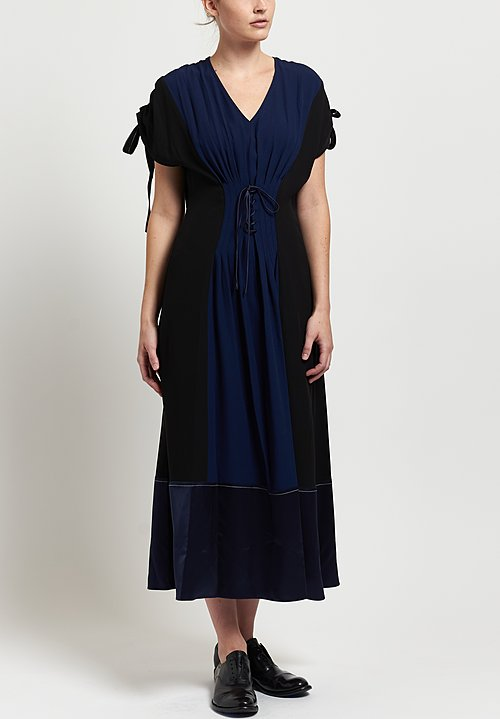 Marni Panel Front Tie Dress