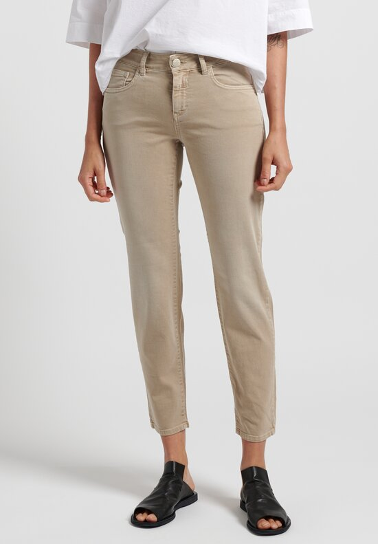 Closed Baker Cropped Narrow Jeans in Burlywood