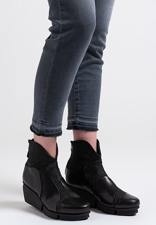 Trippen Marble Bootie in Black
