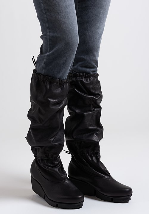 Trippen Elevator Boots in Black
