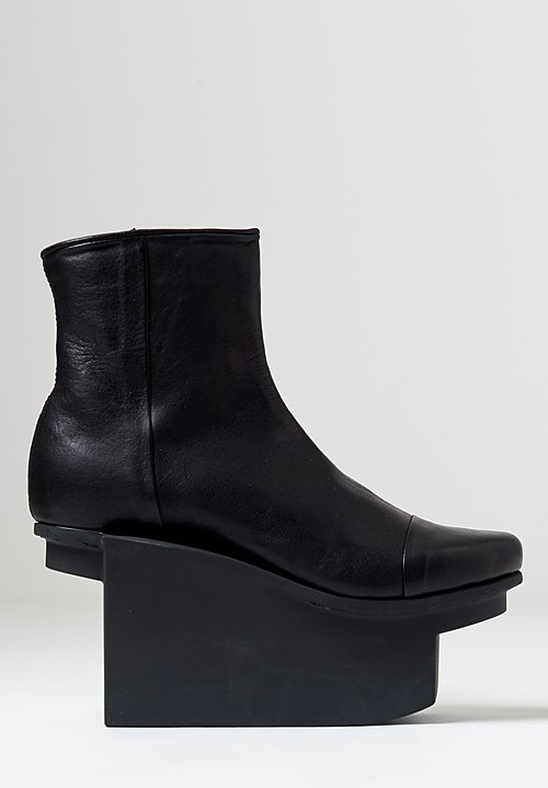 Trippen Cement Bootie in Black