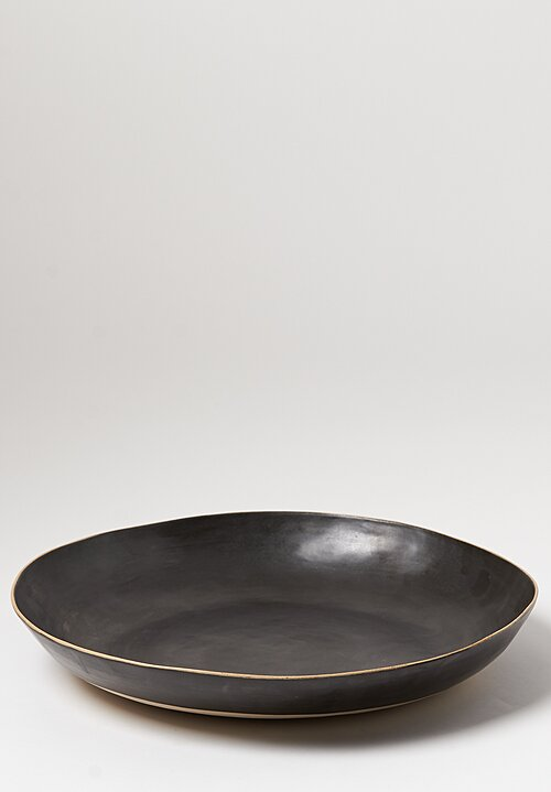 Laurie Goldstein Extra Large Ceramic Open Bowl in Black