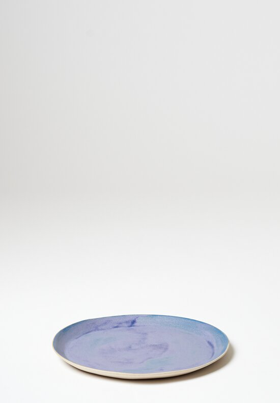 Laurie Goldstein Medium Ceramic Plate in Blue