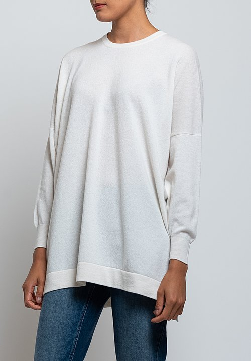 Hania New York Marley Sweater in Niveous