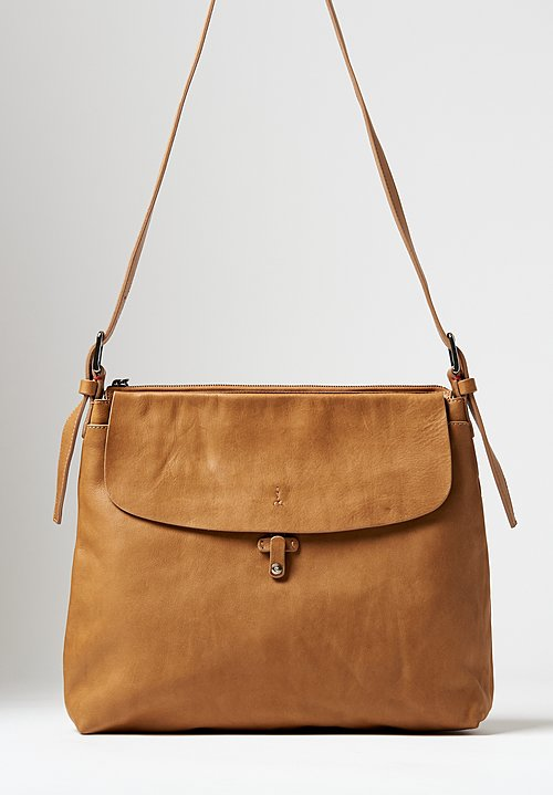 Massimo Palomba Eliza Tibet Shoulder Bag in Camel