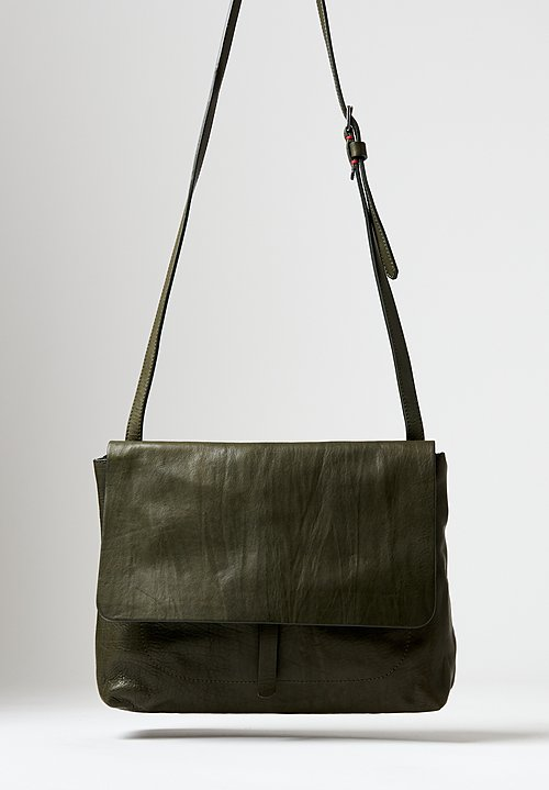 Massimo Palomba Robin Tibet Crossbody Bag in Olive